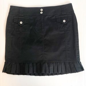 White House Black Market Cargo Pleated Skirt NWT